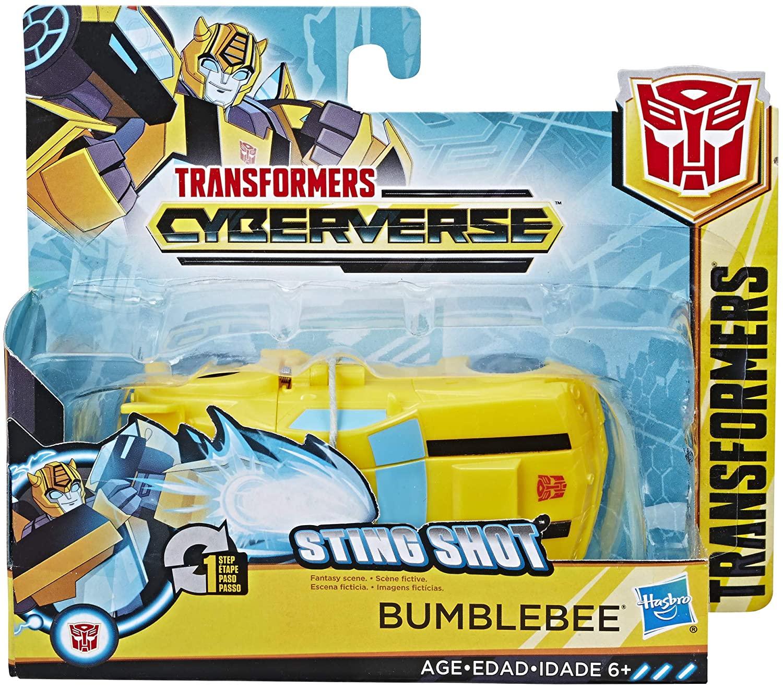 Transformers Robot Vehicul Cyberverse 1 Step Bumblebee