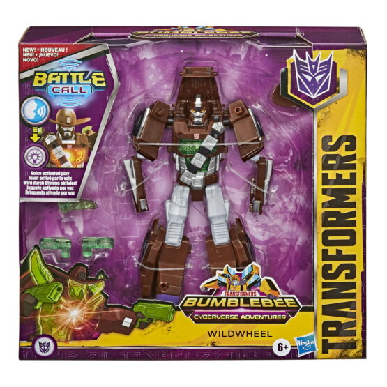 Transformers Robot Decepticon Wildwheel Battle Call Trooper
