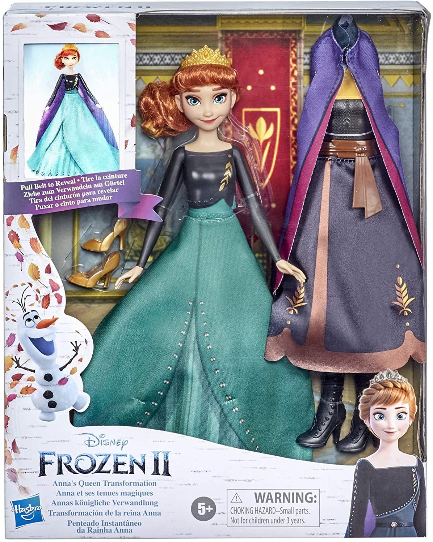 Papusa Frozen2 Anna Transformarea Finala