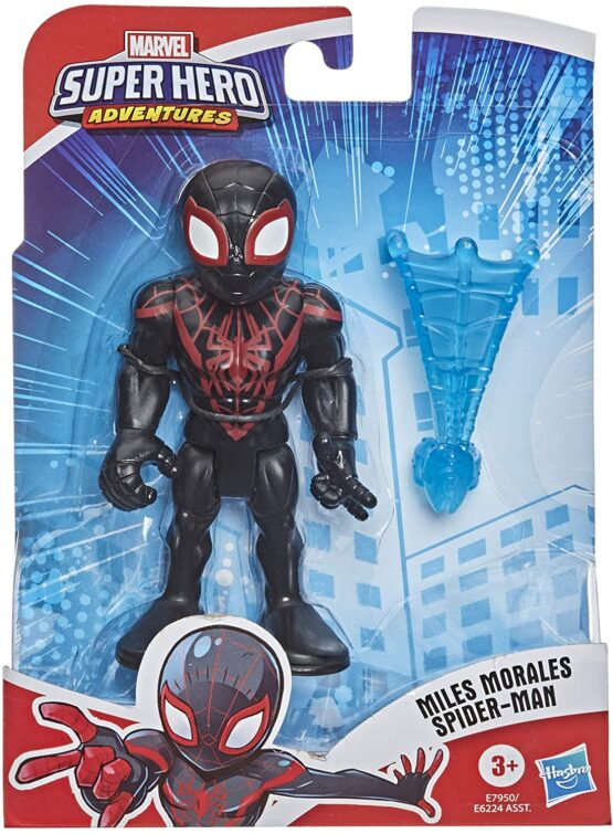 Figurina Avengers Superhero Spider-man Miles Morales