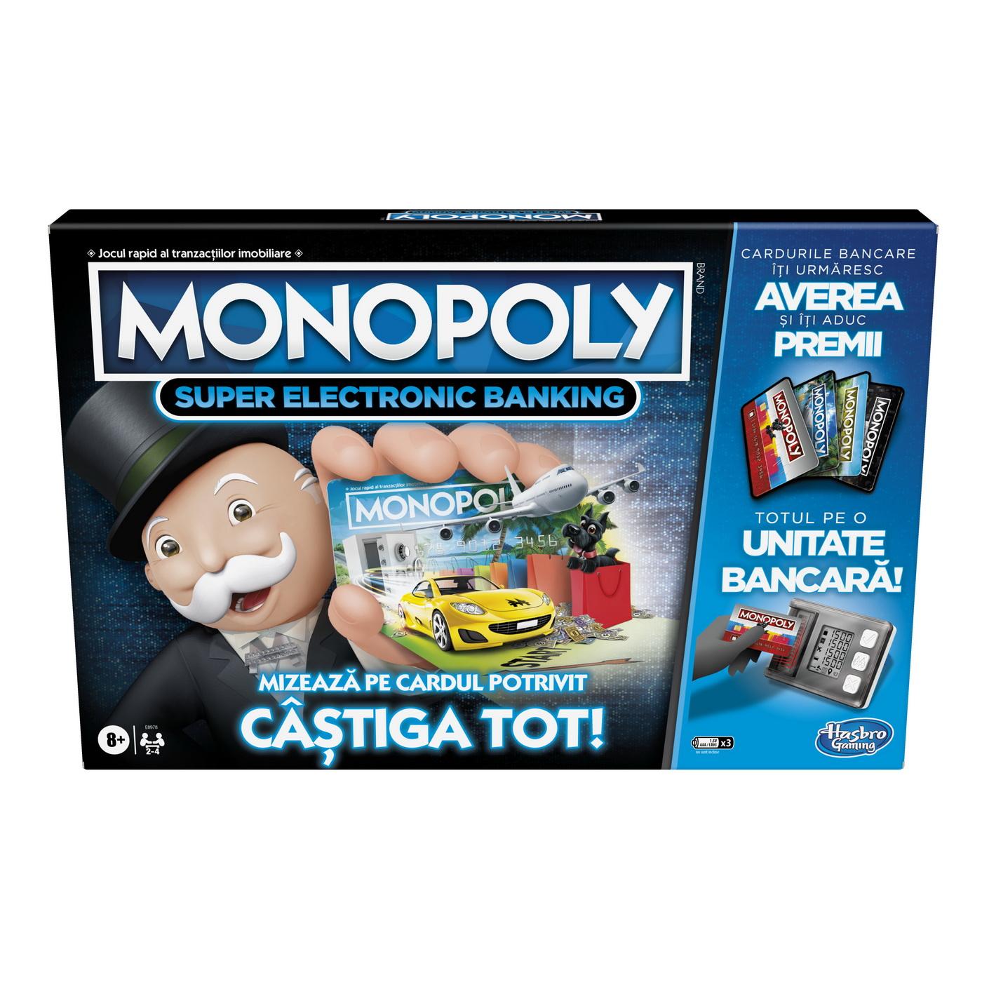 Monopoly Super Electronic Banking – Castiga Tot
