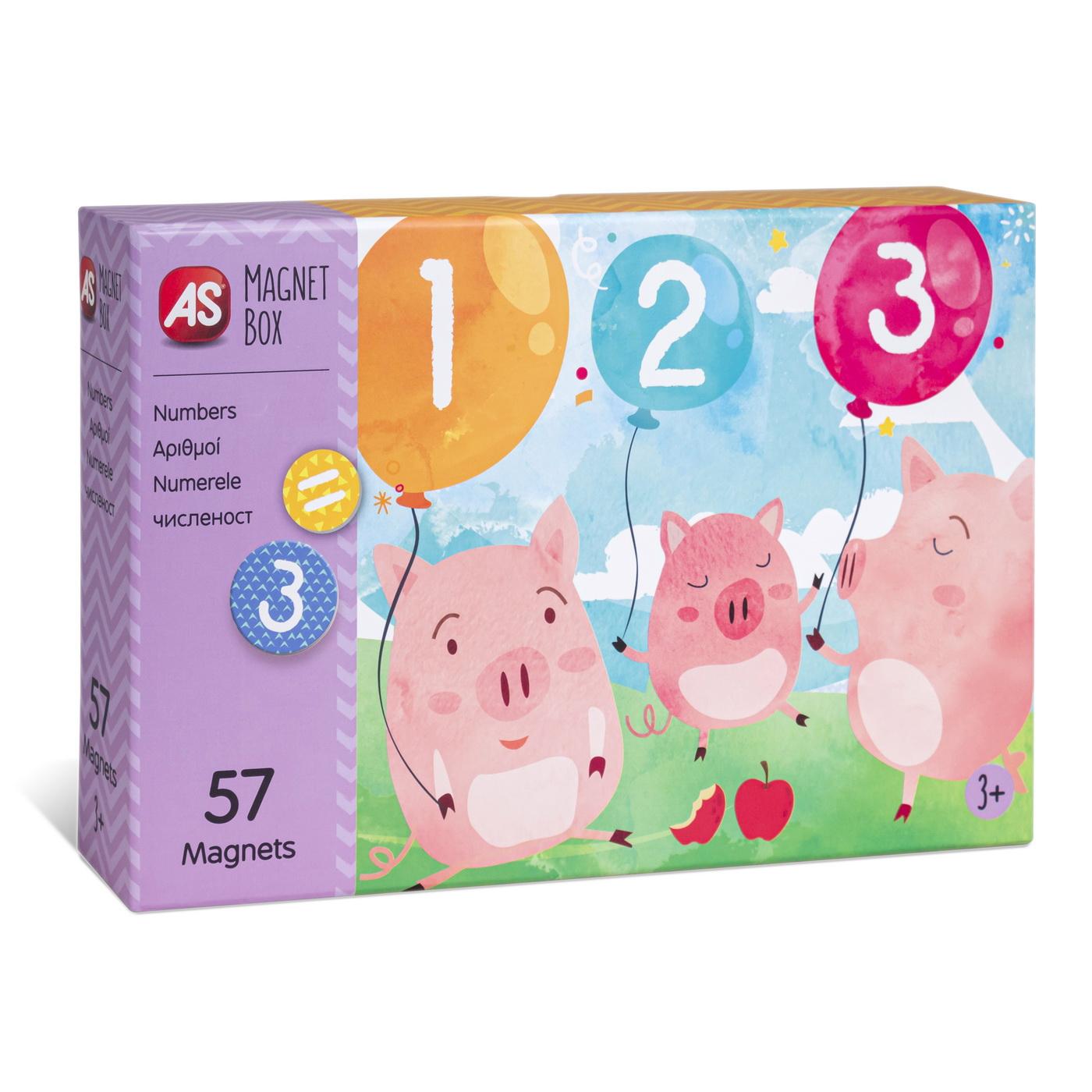 Cutie Magnetica Invata Numerele Cu 57 De Piese