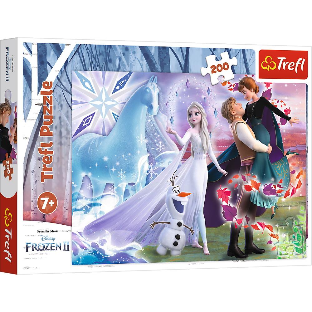 Puzzle Trefl 200 Frozen2 Universul Magic