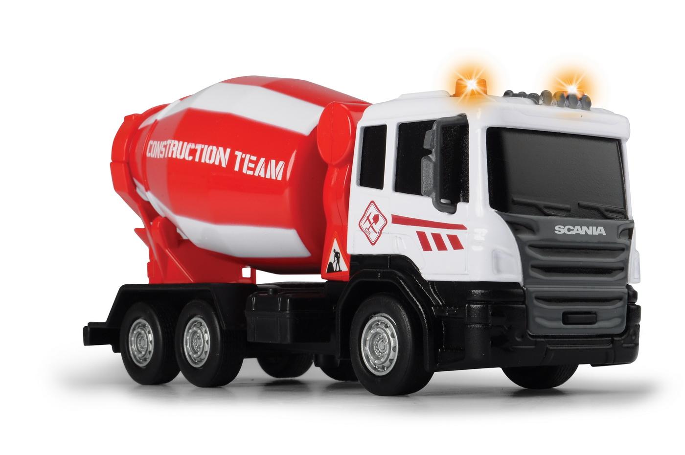 Betoniera Scania 17cm Cu Sunete Si Lumini