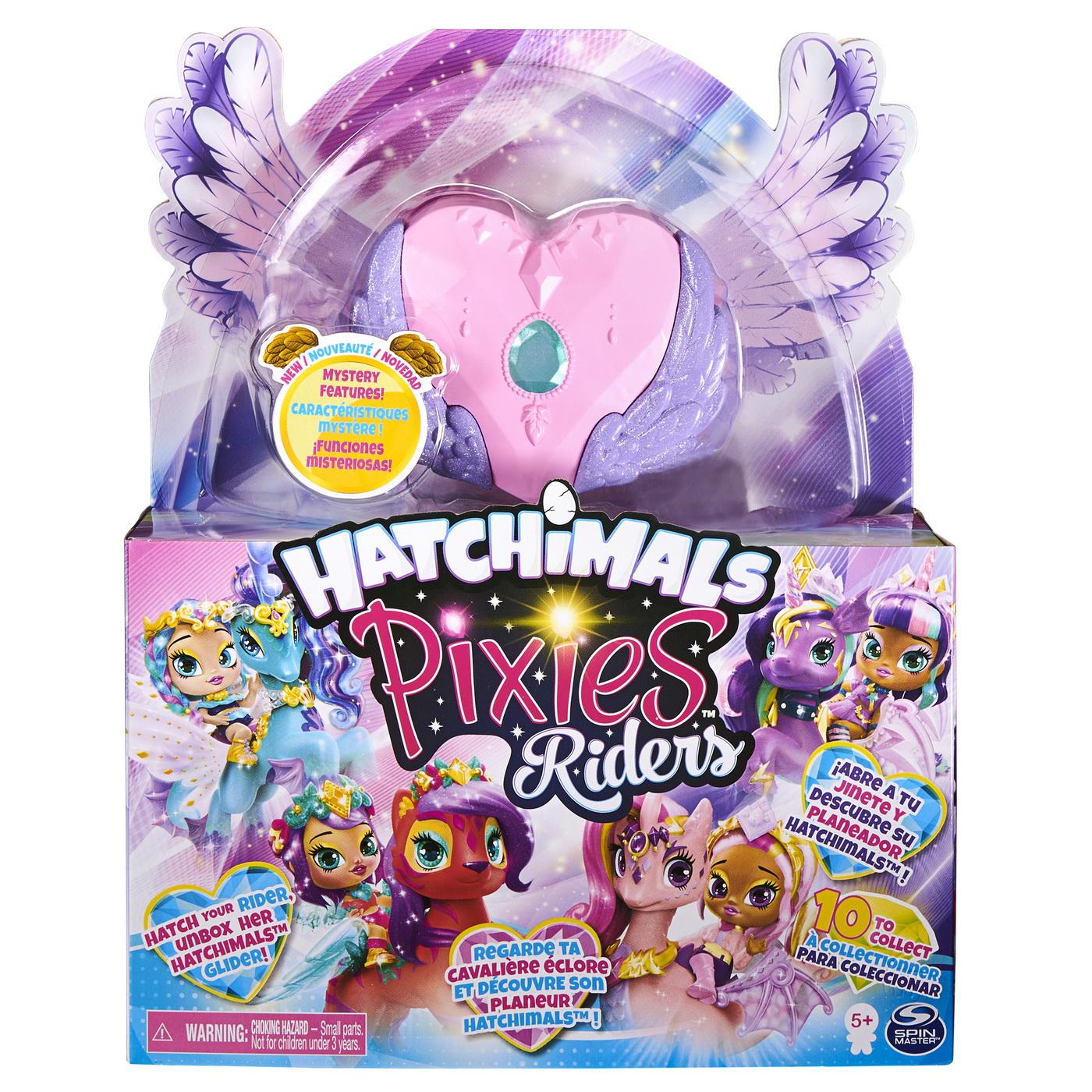 Pixie Creatura Fantastica Papusica Cu Unicornul Roz
