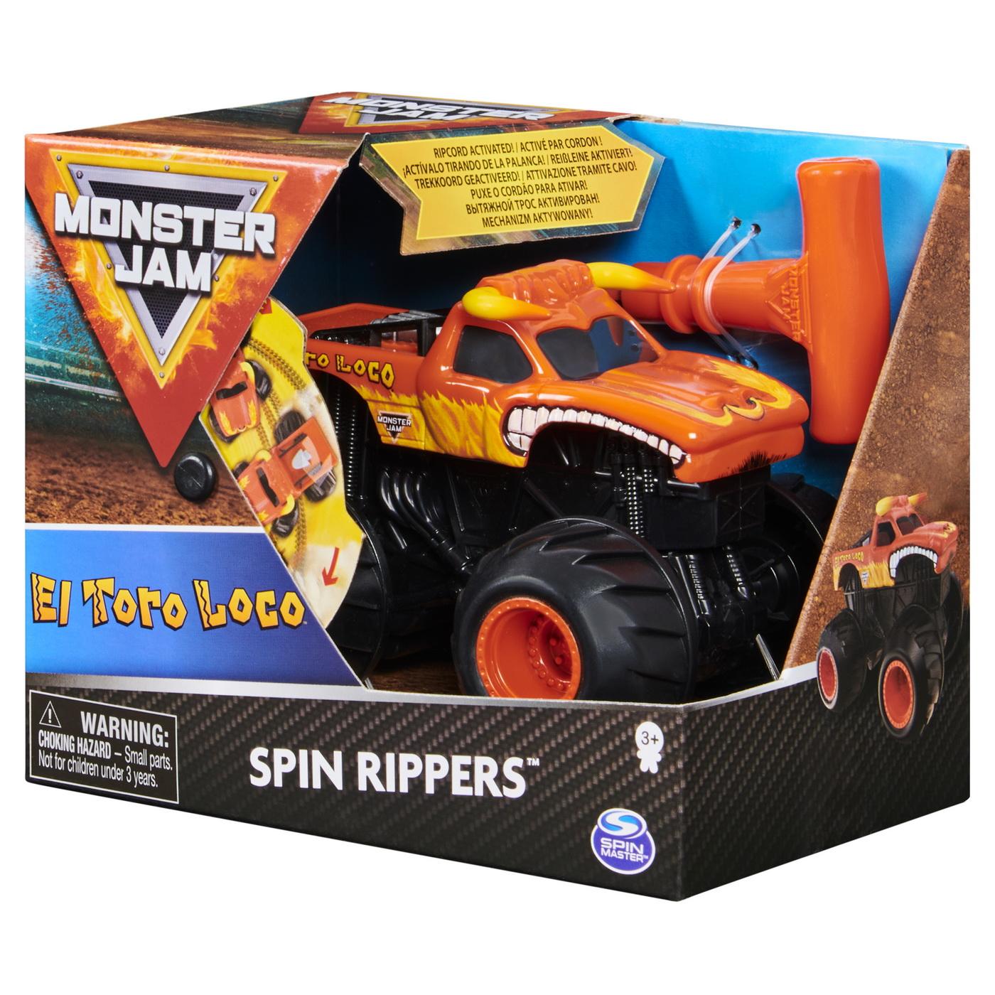 Monster Jam El Toro Loco Seria Spin Rippers Scara 1 La 43