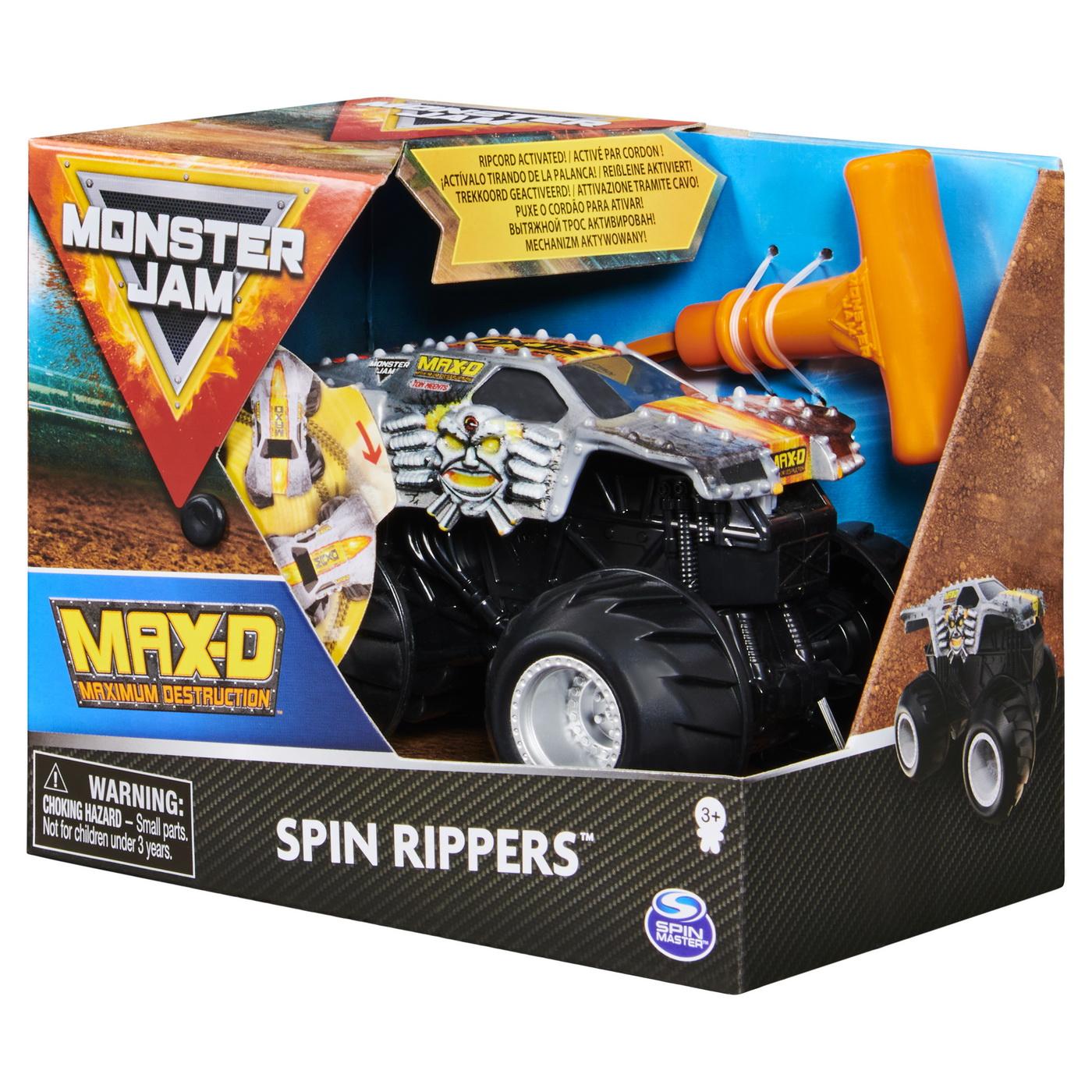 Monster Jam Max-d Seria Spin Rippers Scara 1 La 43