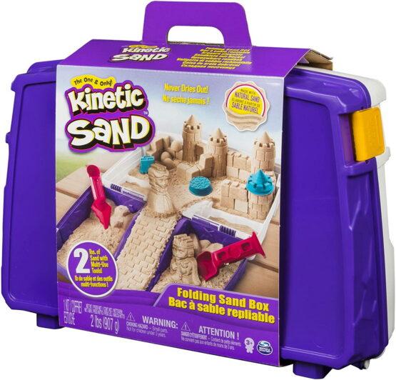 Kinetic Sand In Cutie Cu Accesorii Si Maner