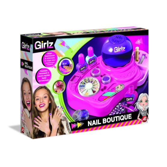 Nail Boutique Girlz Set Manichiura Pentru Fetite