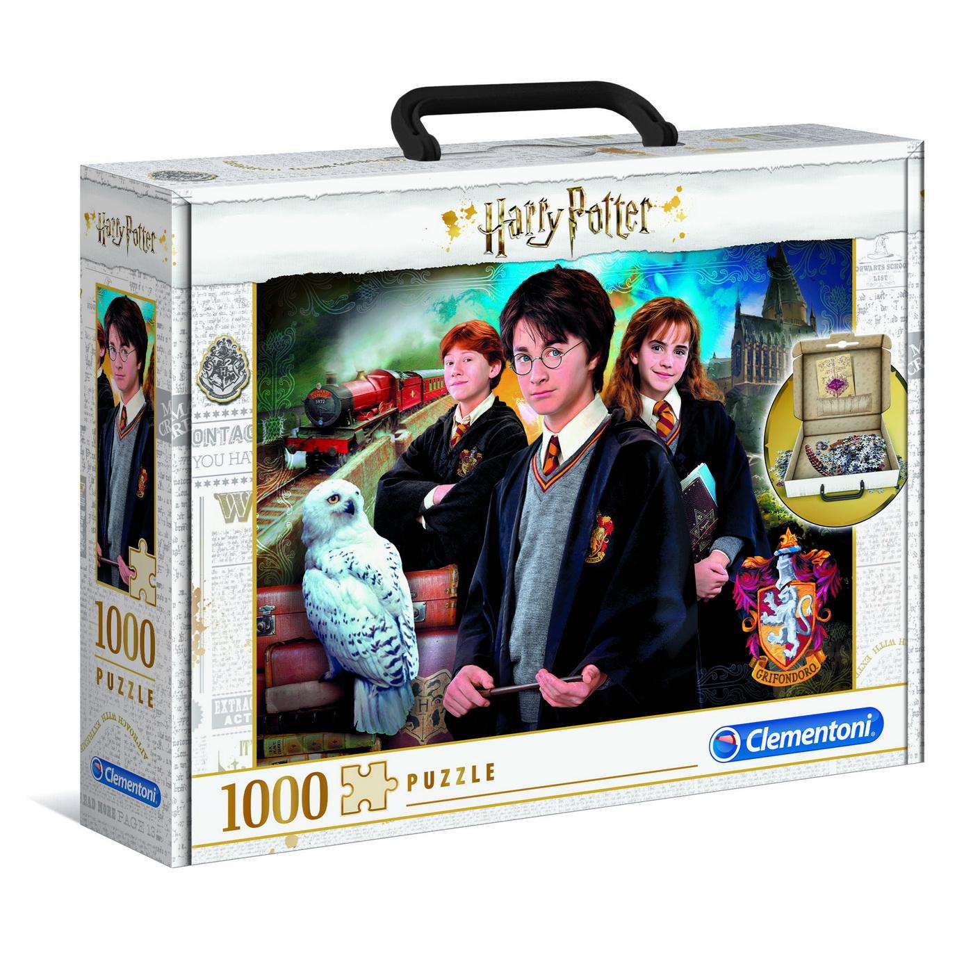 Puzzle Harry Potter 1000 De Piese Servieta Clementoni