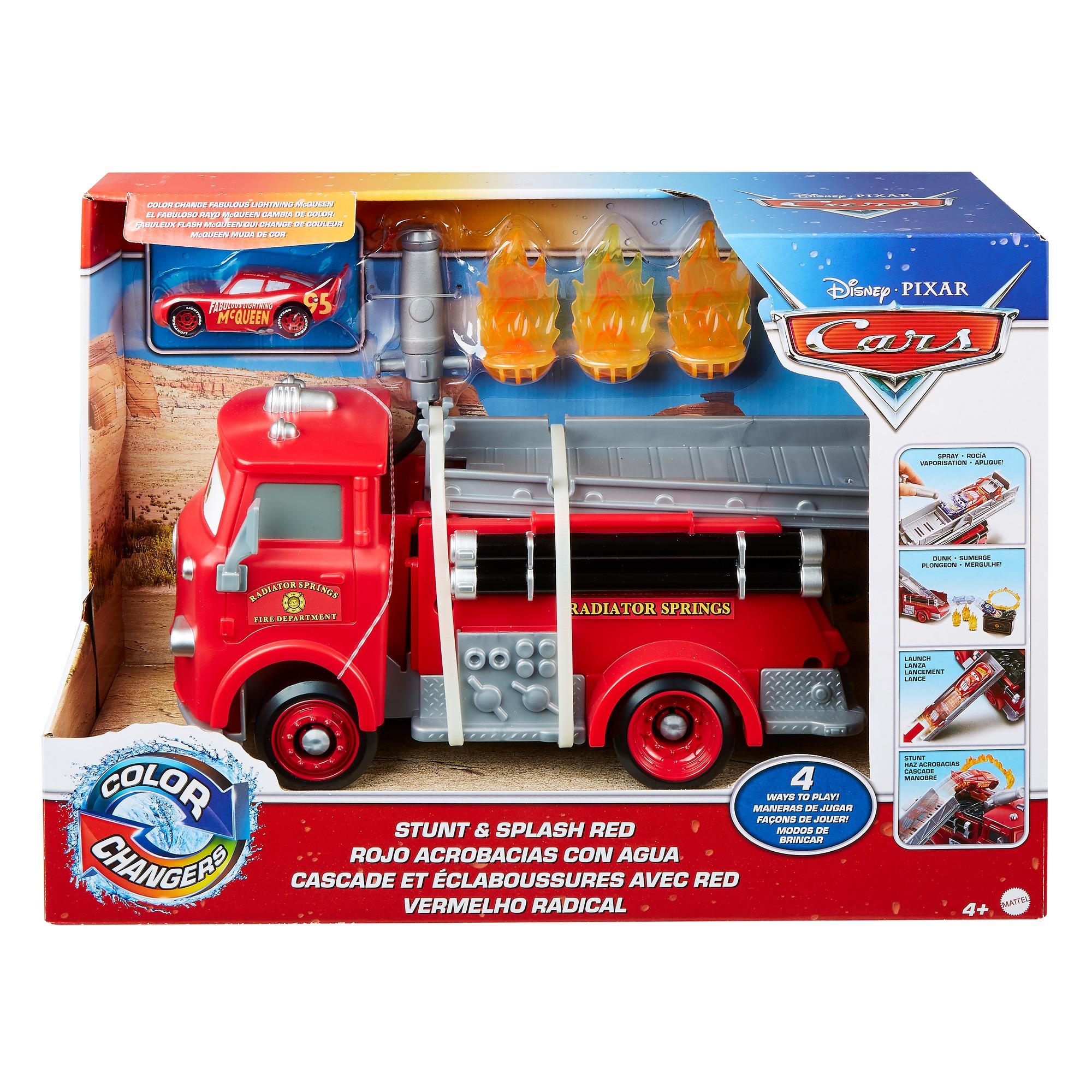 Cars – Pompierul Red Culori Schimbatoare