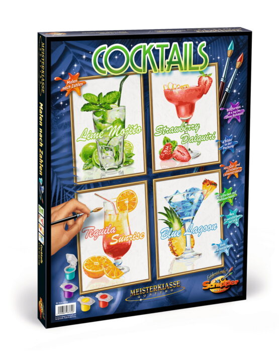 Kit Pictura Pe Numere Schipper Cocktail-uri