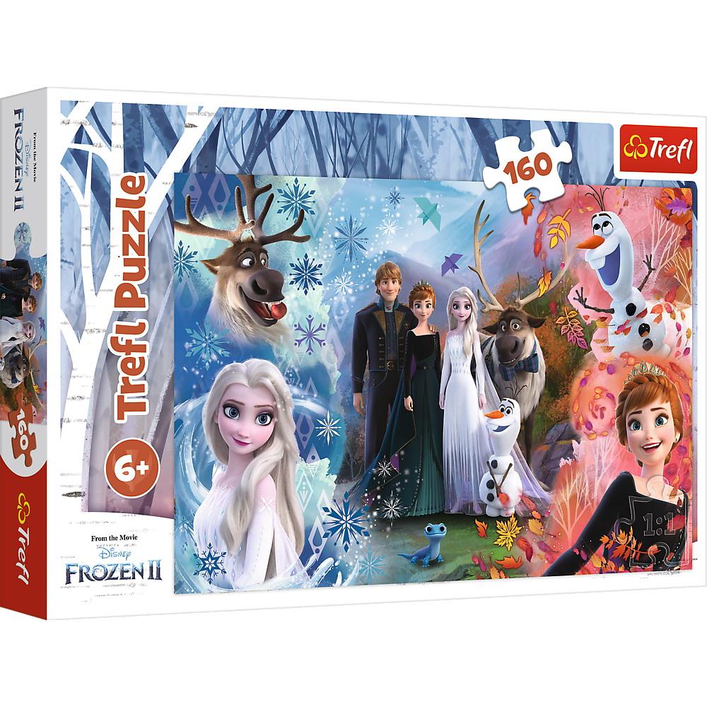 Puzzle Trefl 160 Frozen2 Vis Devenit Realitate