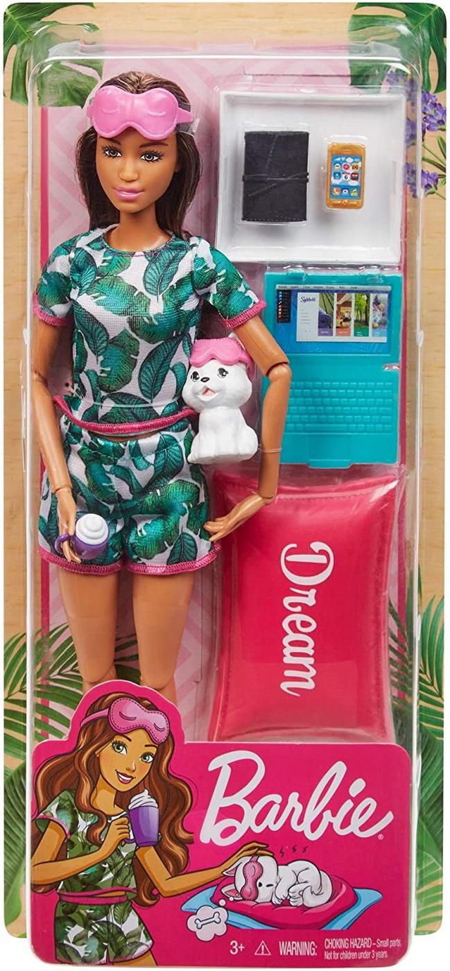 Barbie Set De Joaca Cu Accesorii Wellness Si Relaxare