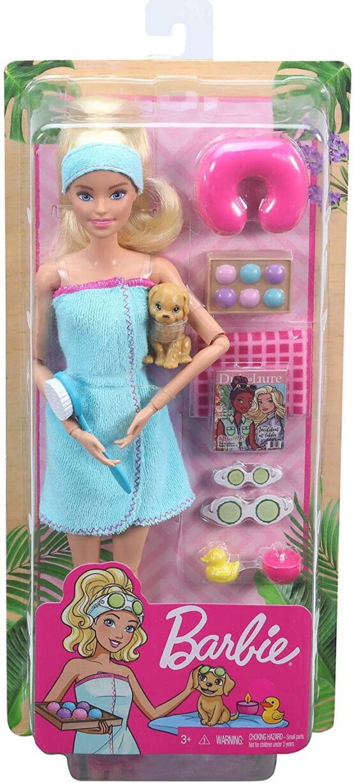 Barbie Set De Joaca Cu Accesorii Wellness Si Spa