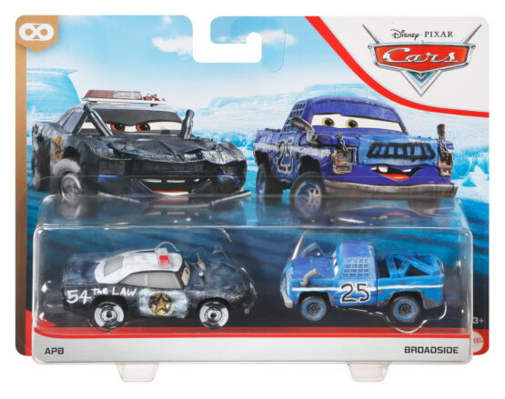 Cars3 Set 2 Masinute Metalice Apb Si Broadside