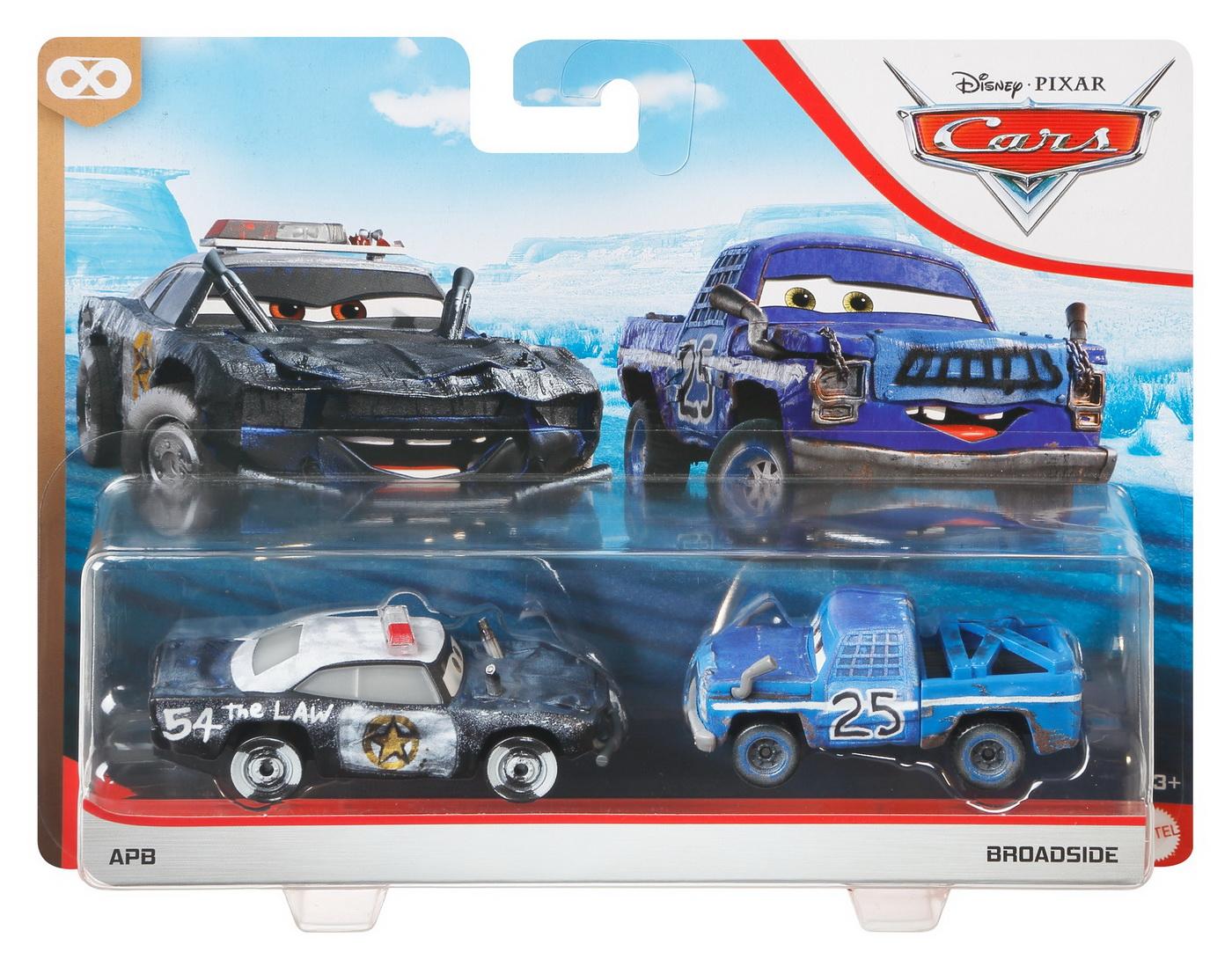 Cars3 Set 2 Masinute Metalice Apb Si Broadside