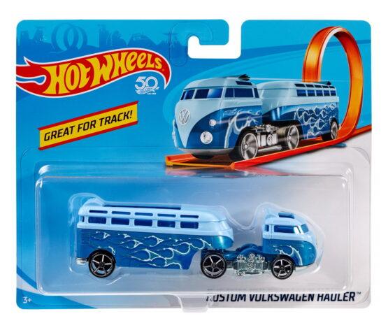 Hot Wheels Camion Volkswagen Hauler Albastru