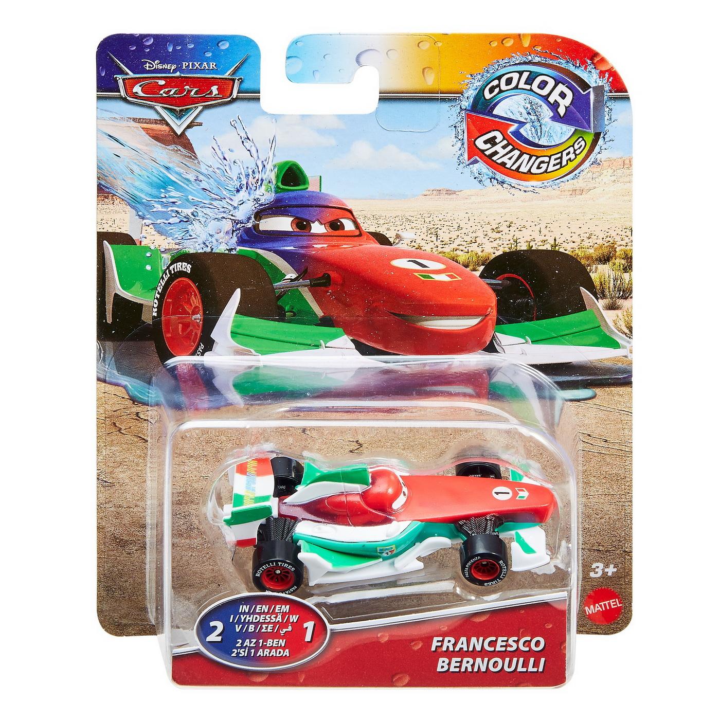 Cars Masinuta Francesco Bernoulli Cu Culori Schimbatoare