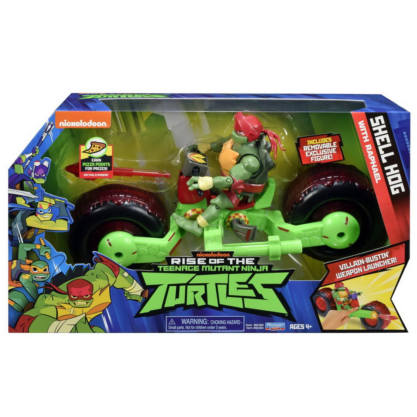 Testoasele Ninja Vehicul Cu Figurina Raphael