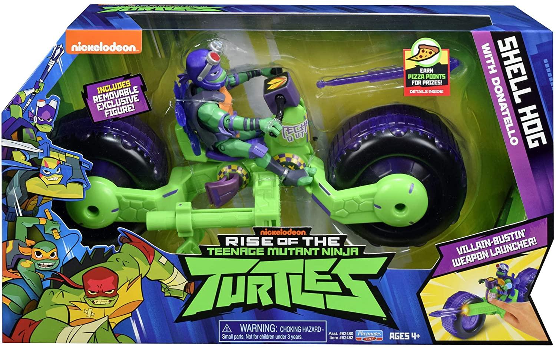 Testoasele Ninja Vehicul Cu Figurina Donatello