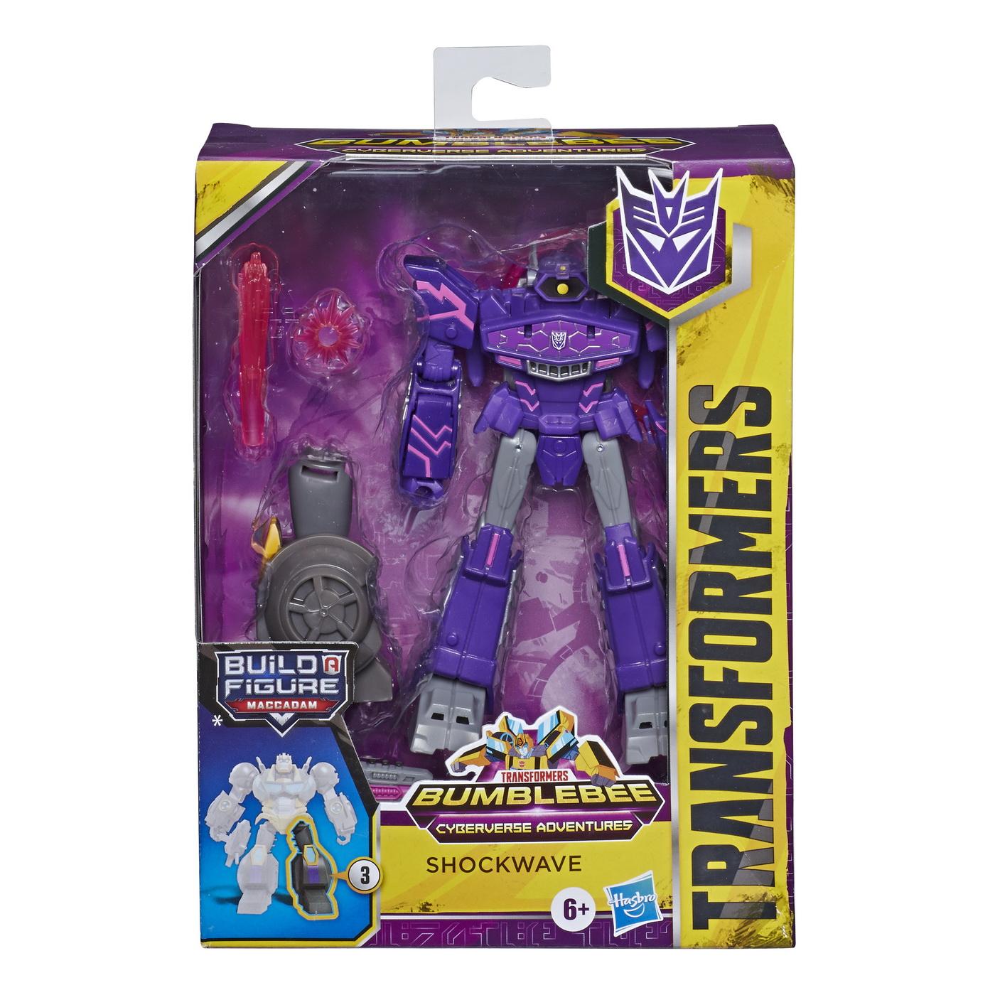 Transformers Robot Vehicul Cyberverse Deluxe Shockwave
