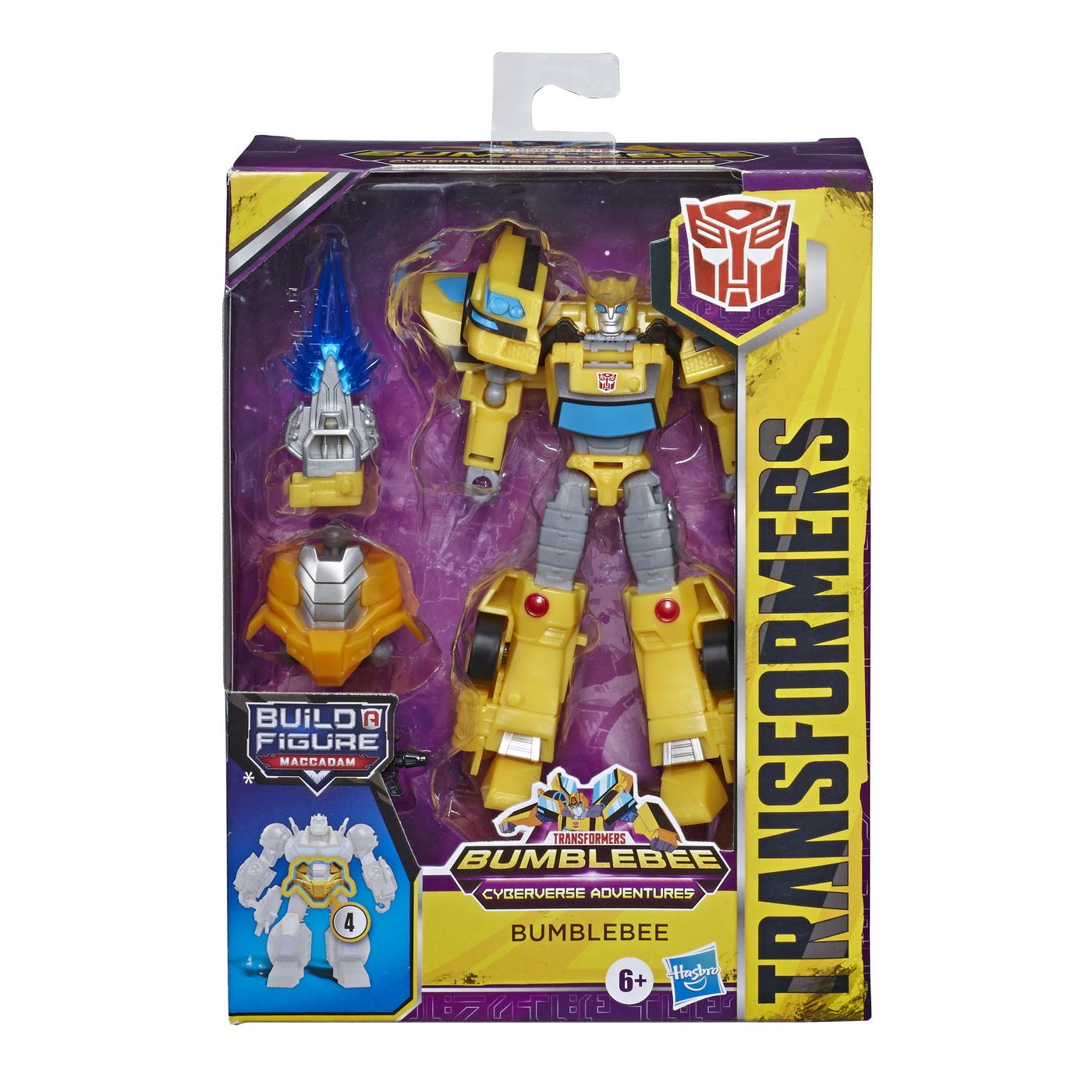 Transformers Robot Vehicul Cyberverse Deluxe Bumblebee