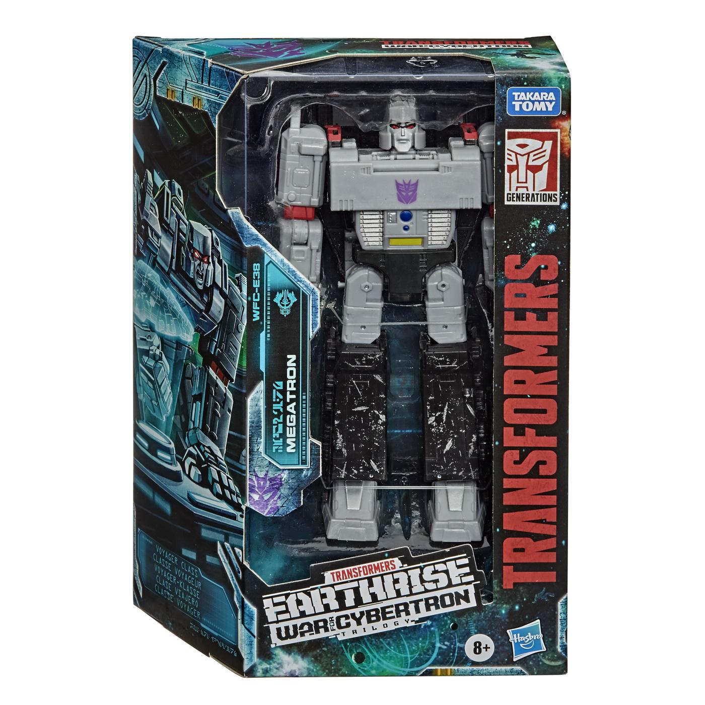 Trasformers Gen Wfc Robot Voyager Megatron