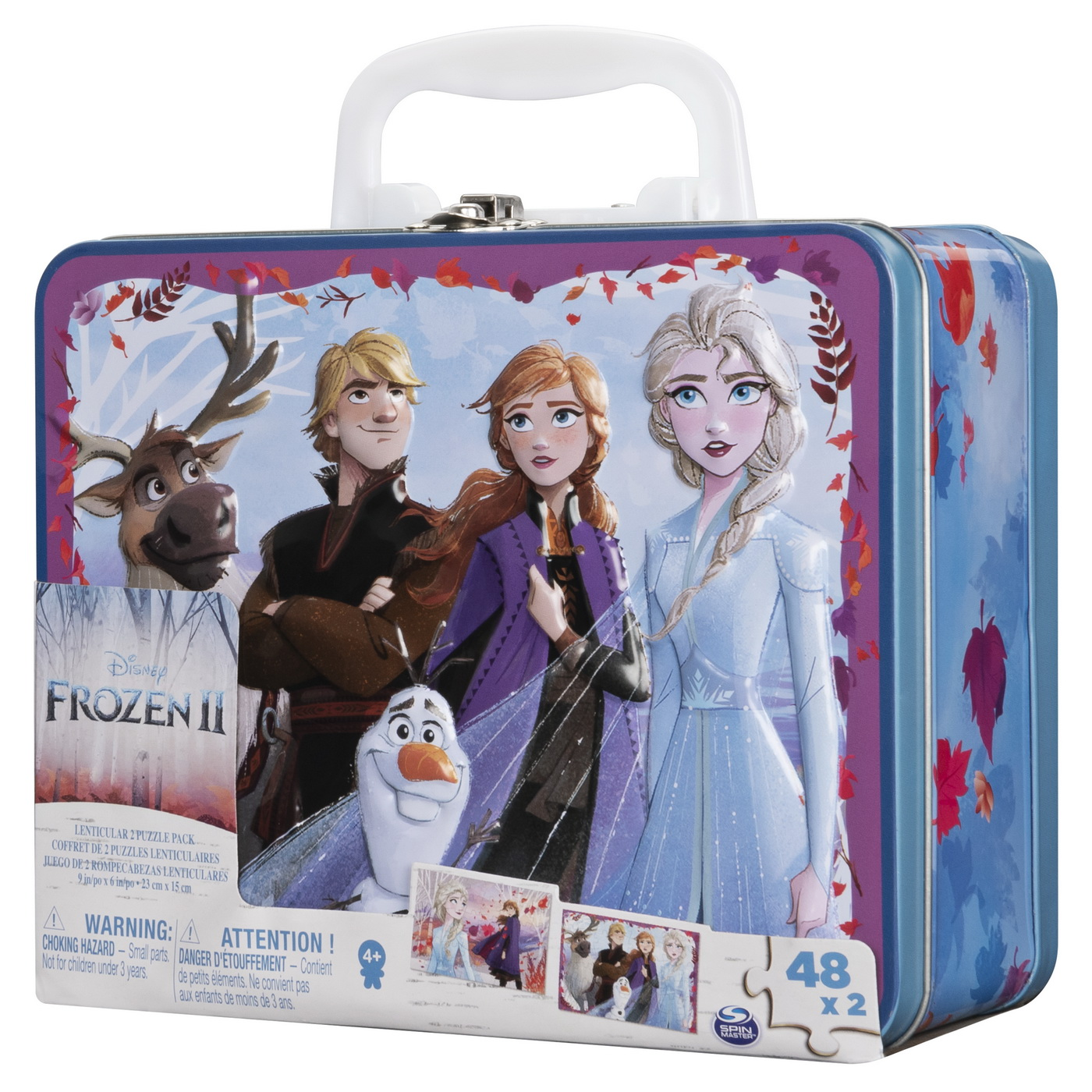 Set 2 Puzzle-uri Frozen2 In Gentuta Metalica