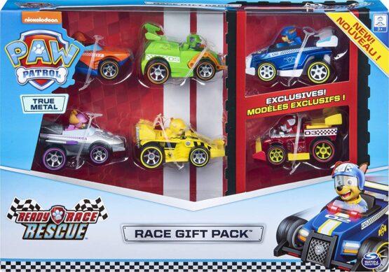 Patrula Catelusilor Set 6 Masinute Metalice Ready Race