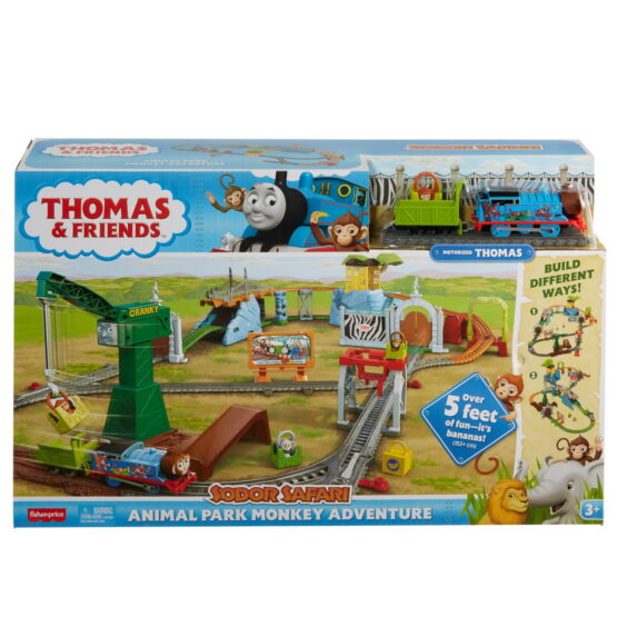Thomas Set Motorizat Aventuri In Parcul Cu Animale