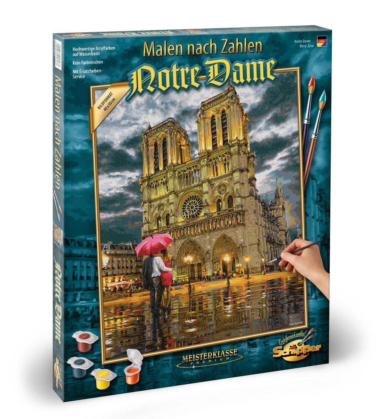 Kit Pictura Pe Numere Schipper Catedrala Notre Dames
