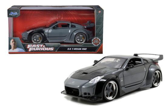 Masinuta Metalica Fast And Furious 2003 Nissan 350z Scara 1 La 24