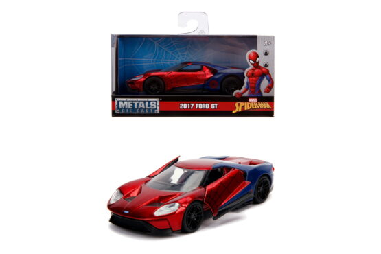 Masinuta Metalica Spiderman 2017 Ford Gt Scara 1 La 32