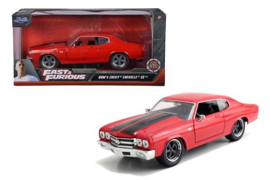Masinuta Metalica Fast And Furious 1970 Chevy Chevelle Scara 1 La 24
