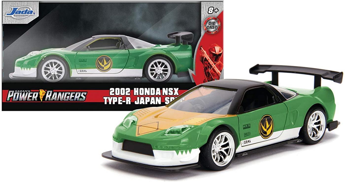 Masinuta Metalica Power Rangers 2002 Honda Nsx Type-r Scara 1 La 32