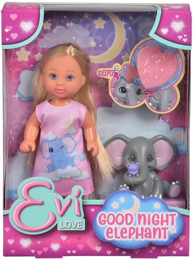 Papusica Evi Noapte Buna Puiule De Elefant