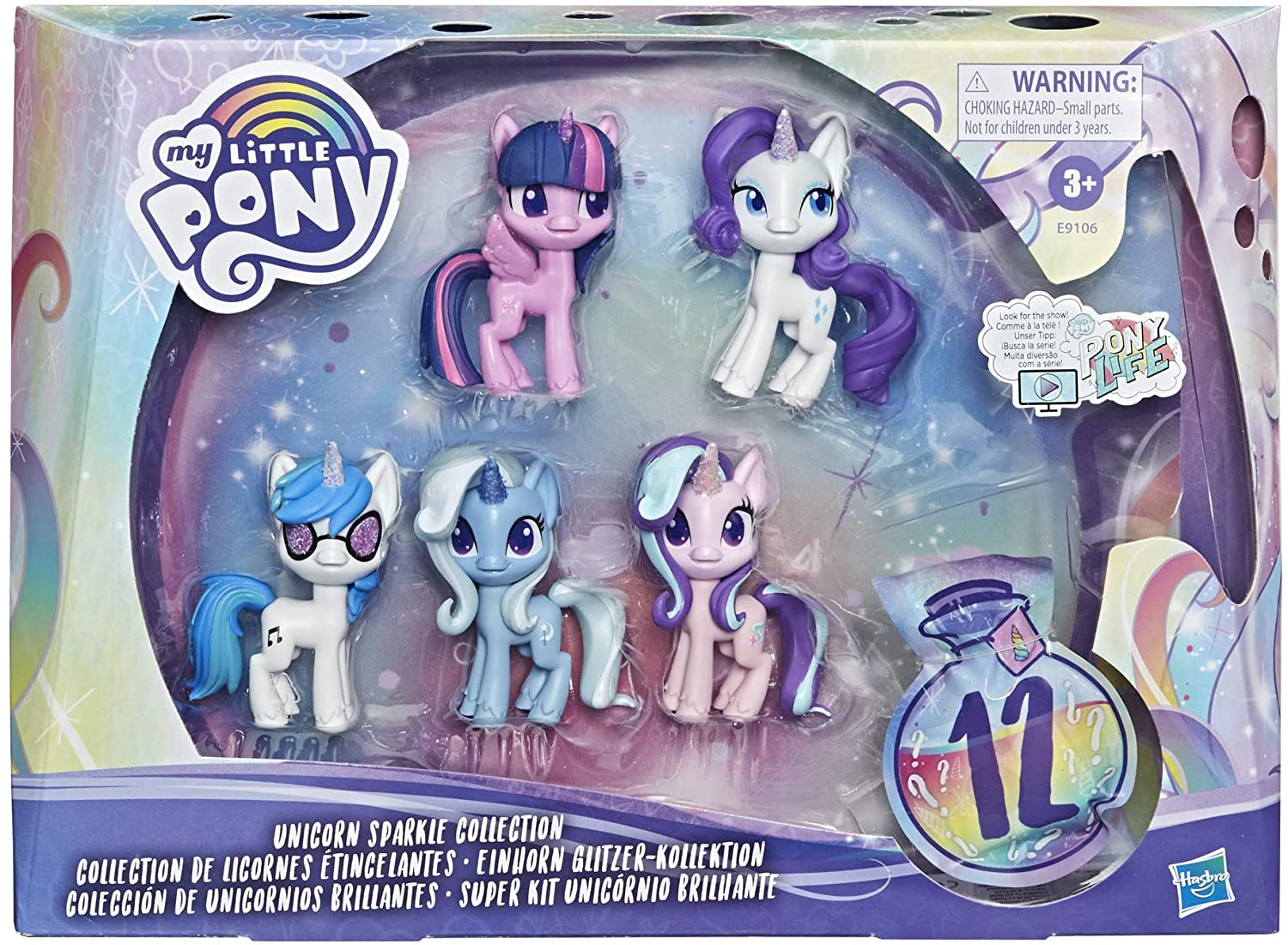 Set 5 Ponei Unicorn Sparcle