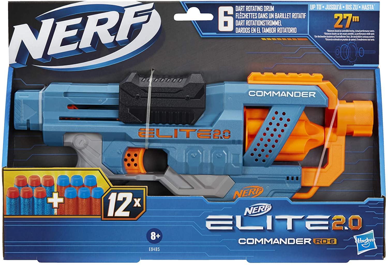 Nerf Blaster 2.0 Elite Commander Rd-6