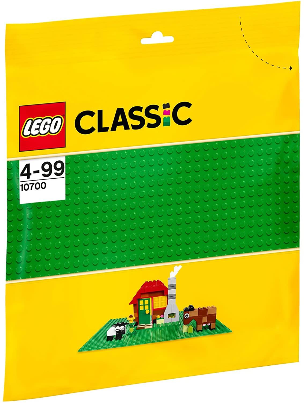 Lego Classic PlacĂ De BazĂ Verde 10700