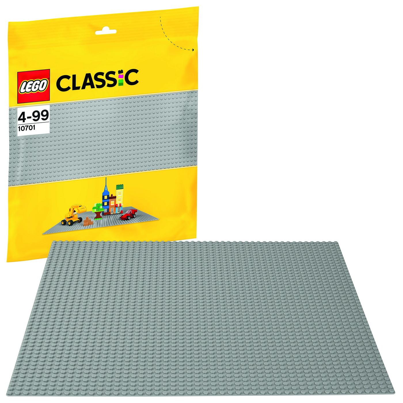Lego Classic Placa Gri 10701