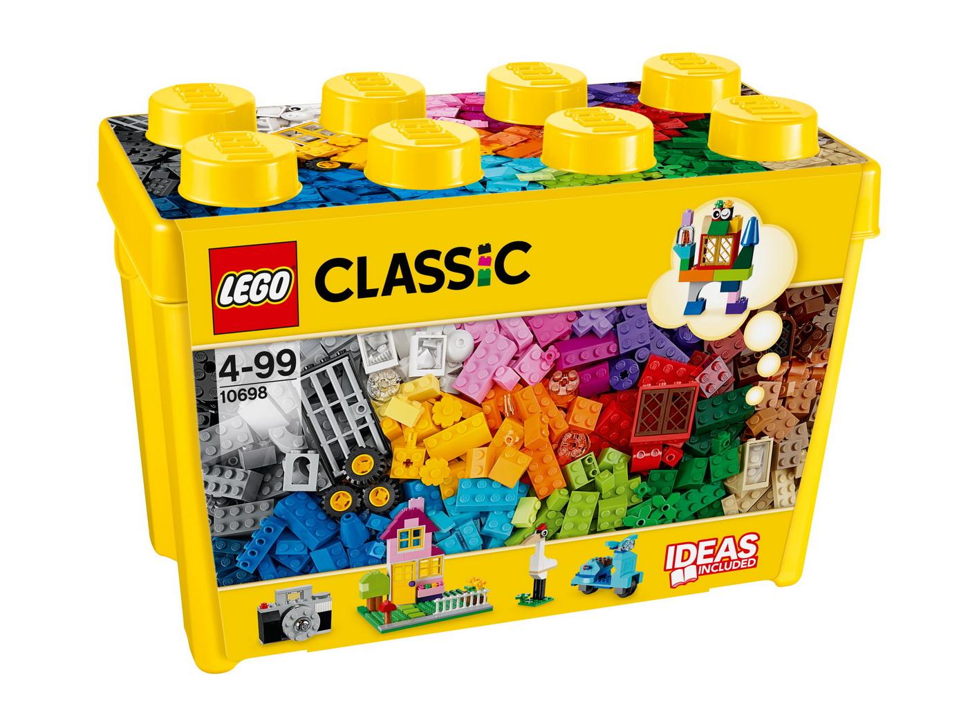 Lego Classic Constructie Creativa Cutie Mare 10698
