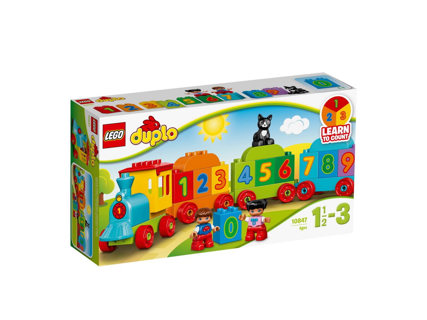 Lego Duplo Trenul Cu Numere 10847