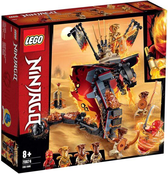 Lego Ninjago Gheara De Foc 70674