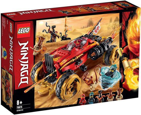 Lego Ninjago Katana 4×4 70675