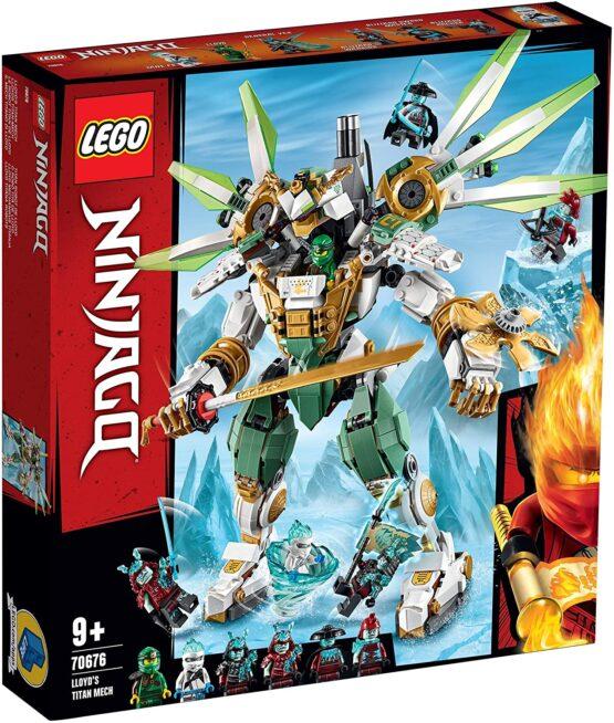 Lego Ninjago Robotul De Titan Al Lui Lloyd 70676