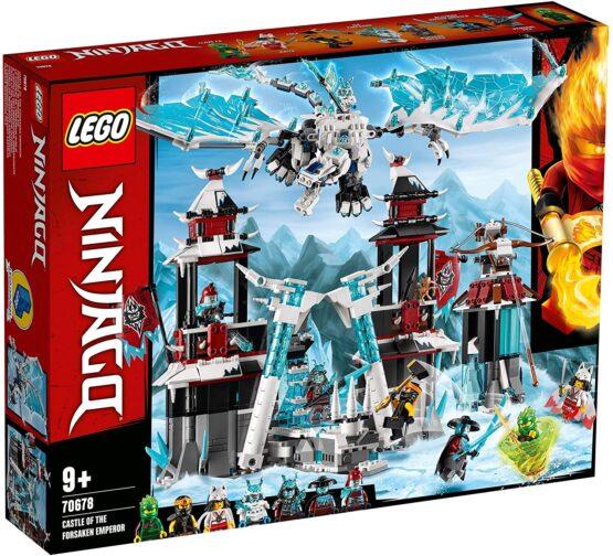 Lego Ninjago  Castelul Imparatului Parasit 70678