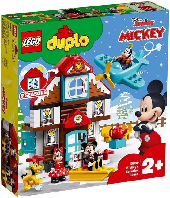 Lego Duplo Casa De Vacanta A Lui Mickey 10889