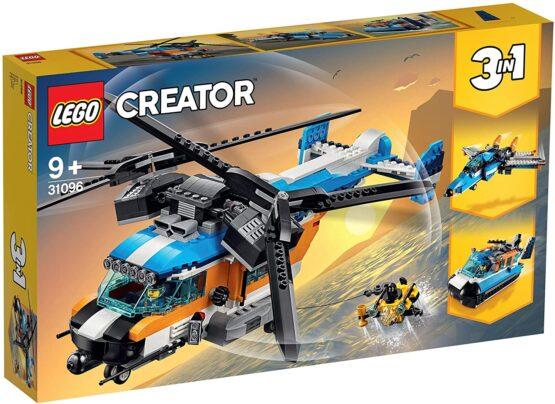 Lego Creator Elicopter Cu Rotor Dublu 31096