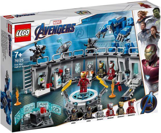 Lego Super Heroes Iron Man – Sala Armurilor 76125